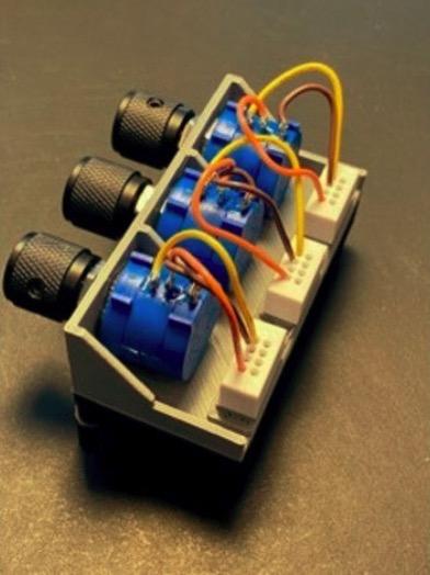 Mounting Bracket for Potentiometer or Input Output Jacks by PhaseDock Thingiverse
