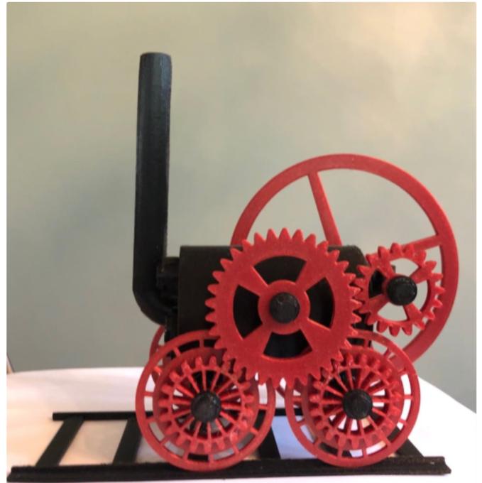 Steam Locomotive by fheflin Thingiverse
