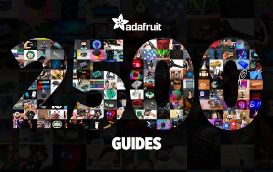 Adafruit Learning System has 2,500 guides