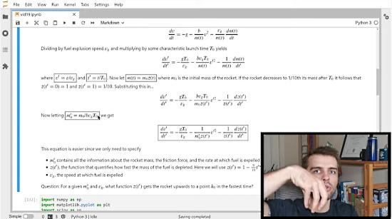 Solving The Rocket Equation