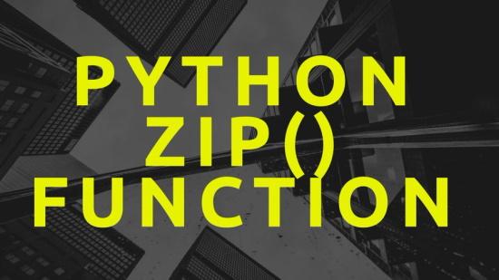 zip function