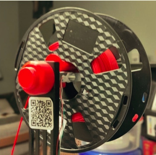 Adafruit io compatible code for filaminder by DocBlock Thingiverse