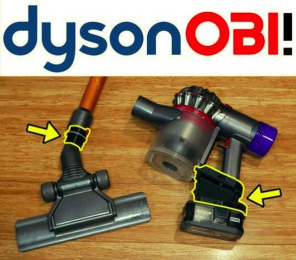 Dyson stick vacuum Ryobi battery adaptor by TeachingTech Thingiverse