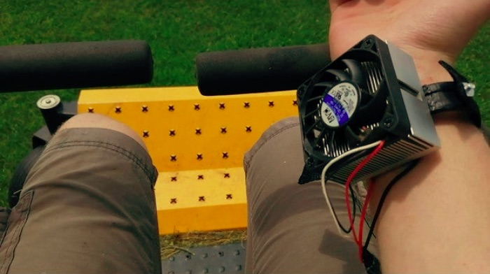 Human Wrist Mounted Chiller by Invening Things Thingiverse