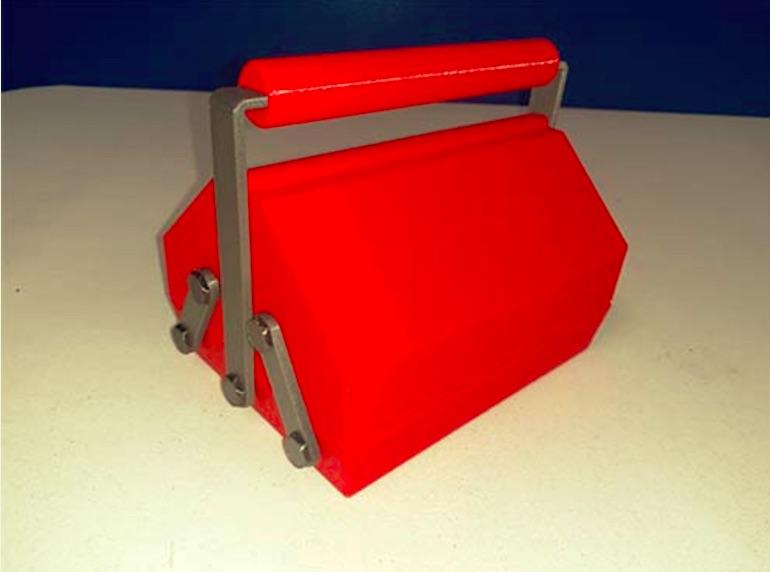 Red Toolbox by Twinkies Download free STL model PrusaPrinters
