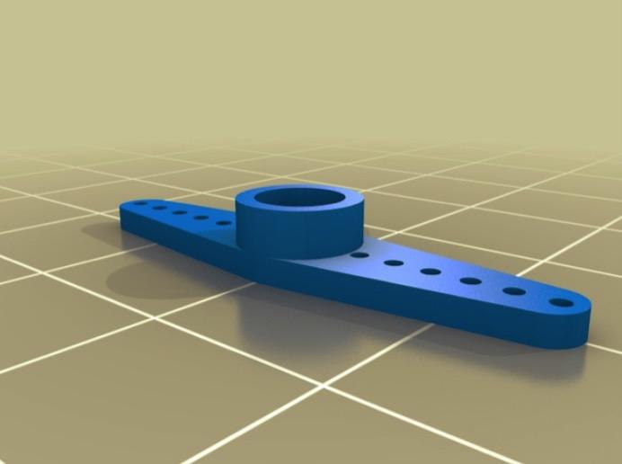 SG90 printable servo rotors all types by finnmglas Thingiverse