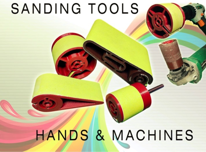 Sanding tools hands machines by mishkin2 Thingiverse