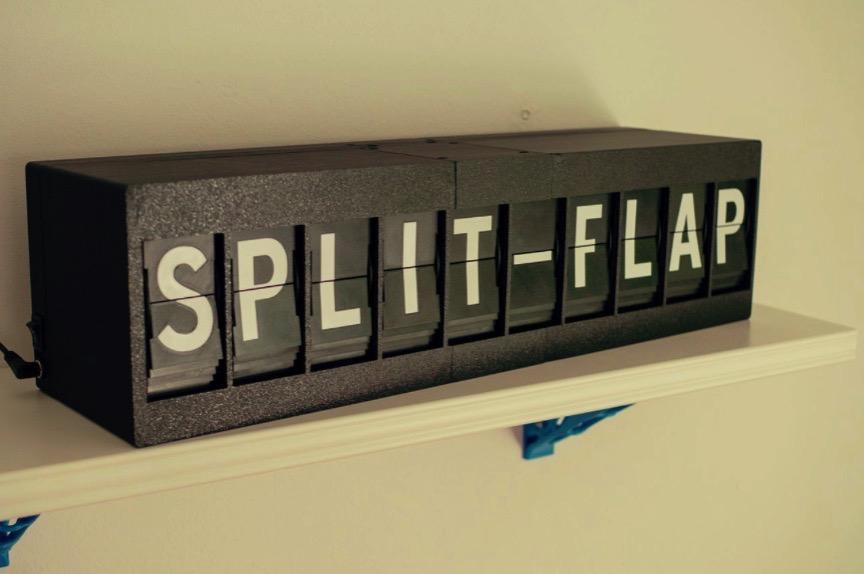 Split Flap Display by David Kingsman Download free STL model PrusaPrinters