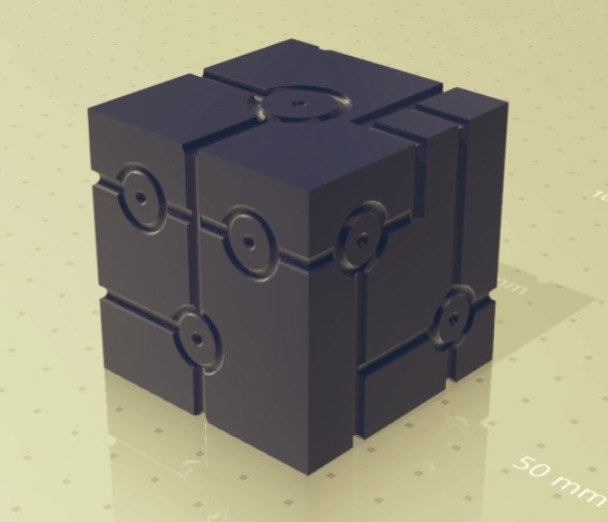 TRON DICE by Raspberry God Thingiverse