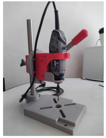 Multi Drill stand by Merides Thingiverse