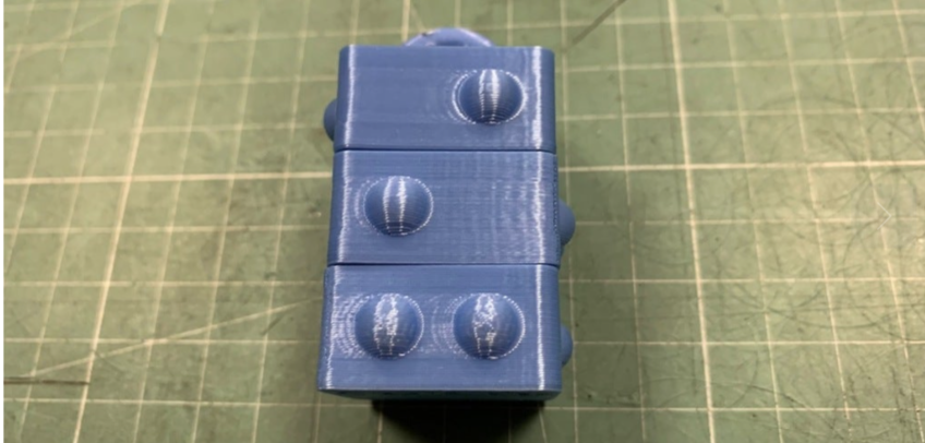 Rotary Braille Cube by Ctrl P Thingiverse