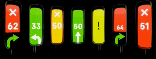 The traffic light gets a dazzling 21st century makeover