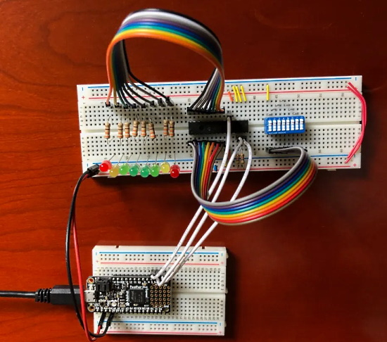 Adding Digital I/O To Your CircuitPython Compatible Board: Part 3 – The MCP23017