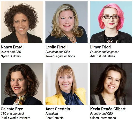 Notable Women Business Owners 2021