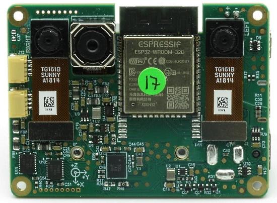 MicroPython support for the OAK-D-IOT platform
