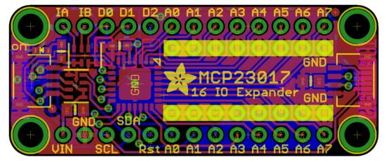 MCP23017 QT