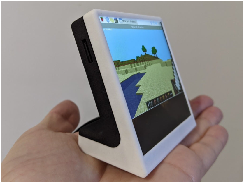 Enclosure base for HyperPixel 4 0 Square Non Touch and raspberry pi zero by printminion Thingiverse