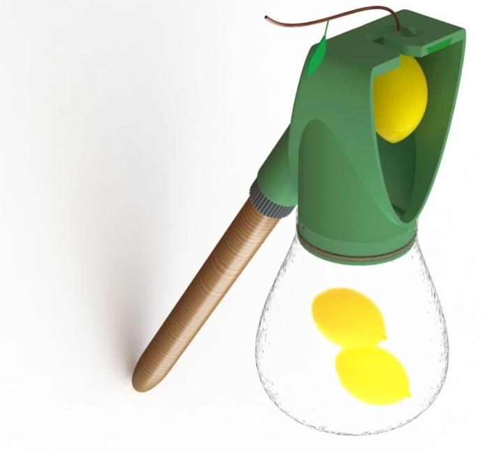 Fruit picker by lidorin Thingiverse
