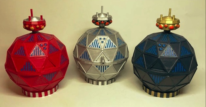 Doctor Who 5 TimeLord Victorious Mechanoids by CaptainJimiPie Thingiverse