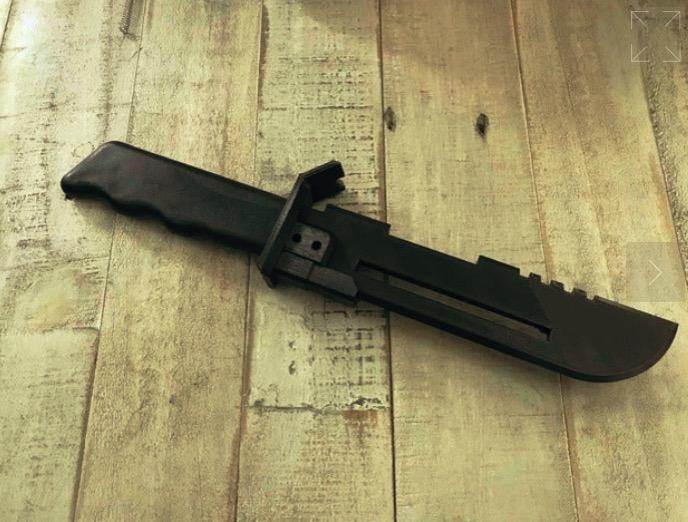 Star Wars Custom Vibroknife by Machinimax Thingiverse