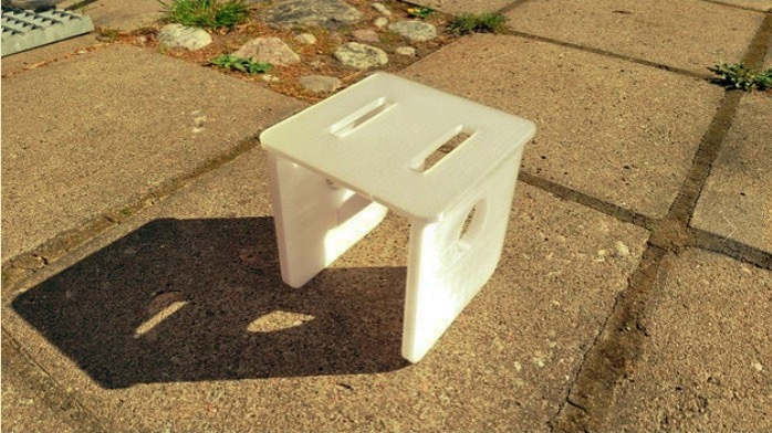 Sturdy chair by FinLepi Thingiverse