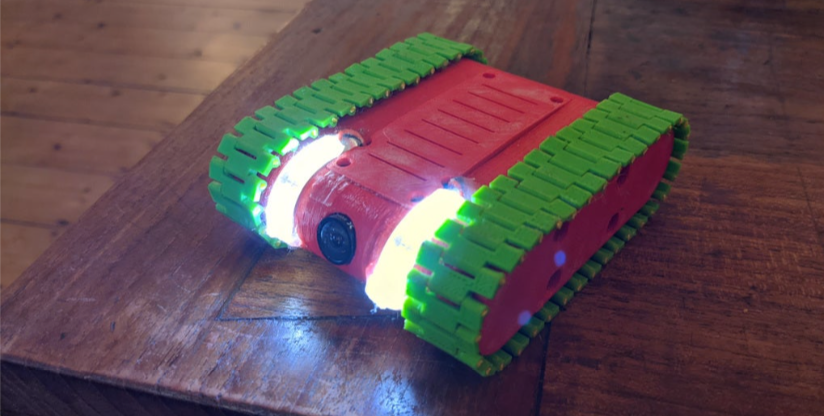 Mini FPV Rover by AdamHelbing Thingiverse