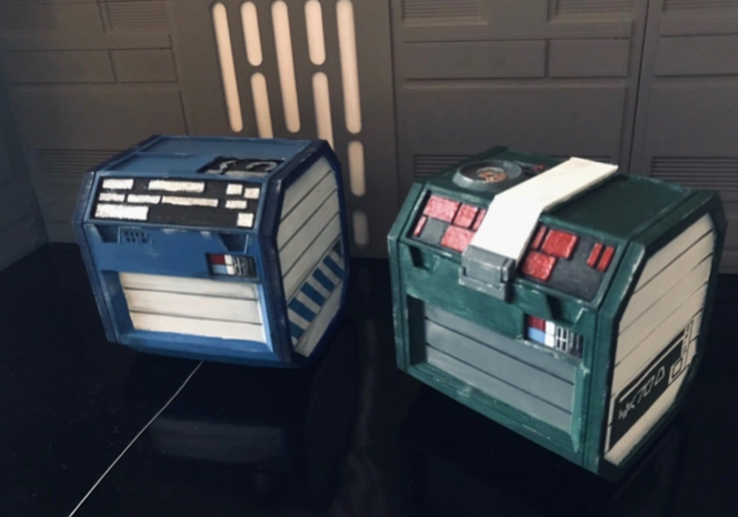 Star Wars Fallen Order chests by vagrantgallery Thingiverse