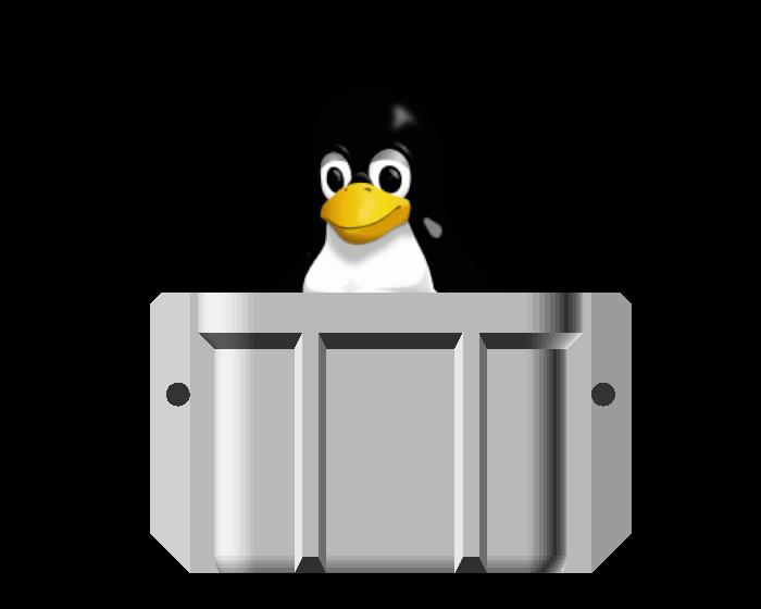 Penguin case logo