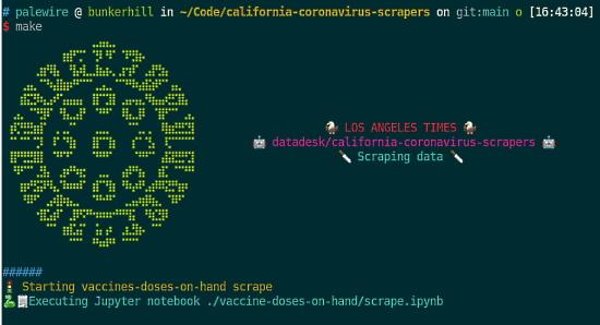 Open-source archive of California COVID data