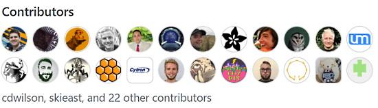 GitHub Thanks Contributors