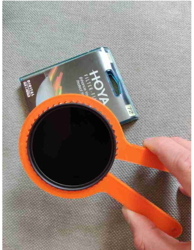 Camera lens filter remover by SidP Thingiverse