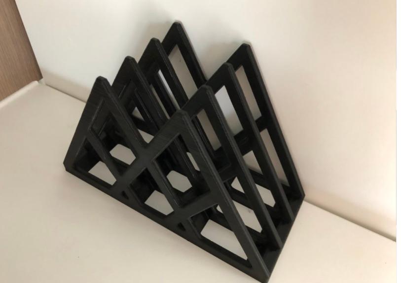 Cutting board Rack x3 by Matearoa Thingiverse