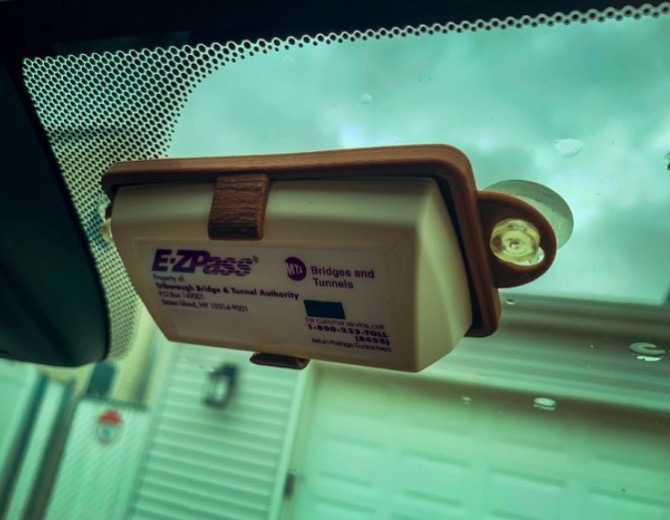 Banners and Alerts and E ZPass Toll Tag Holder For New Format by jimerb Thingiverse