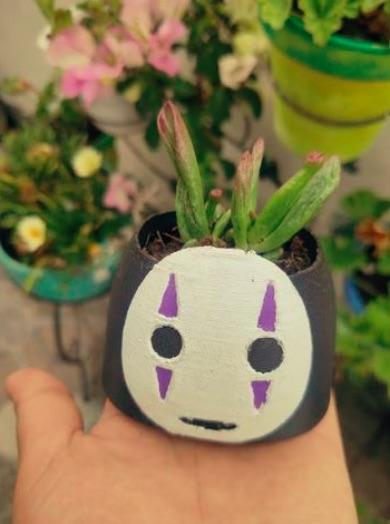Kaonashi planter by ulisesvzv Thingiverse