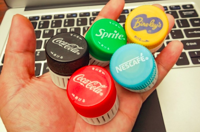 Mini Container with PET Bottle Cap Size by Tokyo Bird Thingiverse