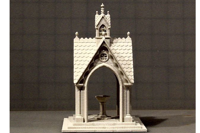 Victorian Gazebo with Dovecote by Winslow Thingiverse