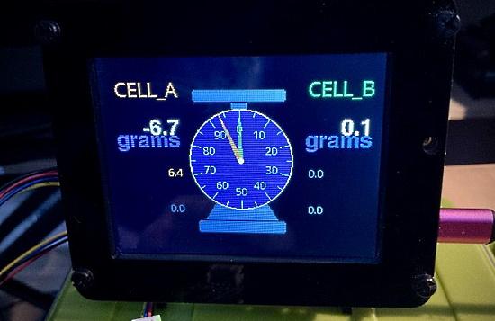 Displaying analog dials