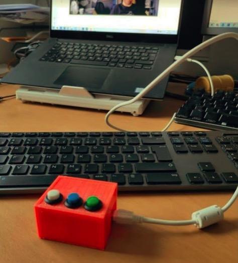 MS Teams Keypad Box by muff99 Thingiverse