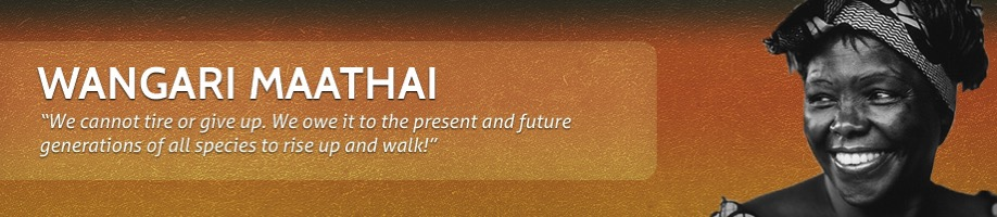 Wangari section banner